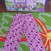 Не пропустите!!!Красивые мягенькие флисовые штанишки на девочку 4-5 лет