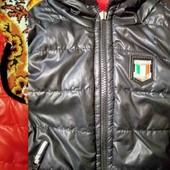 Крутая жилетка-куртка двухсторонняя на осень, весну.