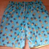 шорты с ананасами купальные