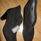 Ботинки Marc .нубук. 37.40.42 р.... (Німеччина)