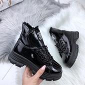 Брендовые ботинки-лак**RoStori**