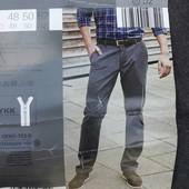 Стильные мужские брюки Watsons®, р.52, серые