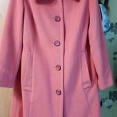 Kрасивое, стильное кашемировое пальто. Размер 48-50