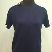 Новый пуловер с коротким рукавом, размер 48-52, смотрите замеры