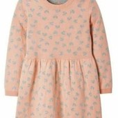 Милое вязанное платье на девочку Lupilu Германия размер 110/116