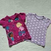 Две футболки в лоте на 3-5 лет