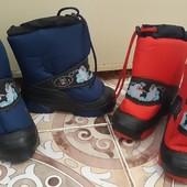 зимние ботинки , демар, том.м. обувь