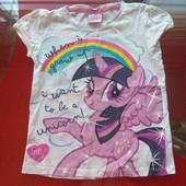 My little pony George футболка Моя маленькая пони 5-6 л 110-116 см отличное состояние