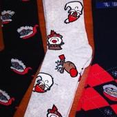 =Лот 2 пары= Размер 41-44.Махровые новогодние носки любимым мужчинам. Качество супер!