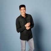 Отличная мужская джинсовая рубашка Livergy Германия размер L (41/42)