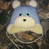 Зимняя милая шапочка