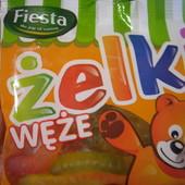 Польша!Очень вкусные желейки!Жевательные конфеты в виде червячков 80 гр.