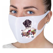 Многоразовые маски с принтом!
