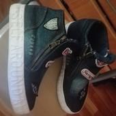 Джинсовые ботиночки р. 36