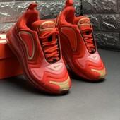 Шикарные кроссовки, р.35-36 Nike 720 премиум качество. Распродажа последних размеров - 70%