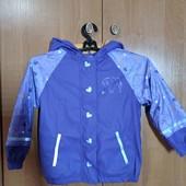 Курточка дождевик на девочку 4-6 лет
