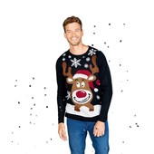 Отличный праздничный свитер Livergy Германия размер XL (56/58)