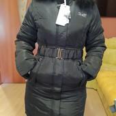 Зимняя куртка на холофайбере,натуральный мех, качество бомба.