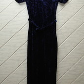 Велюрове плаття,розмір М.Орієнтуйтесь по замірах!