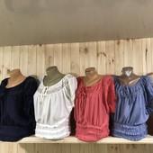 Блузка Хлопок-штапель, на любые формы!