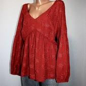 Качество! Свободная блуза от бренда George, в новом состоянии
