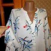 Качество! Стильная блуза с легкой фактурой от Marks&Spencer, в новом состоянии