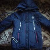 Отличная демисезонная куртка на подростка 48р.