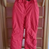 Лыжные штаны Glissade Ski wear в хорошем состоянии, рост 128 по бирке