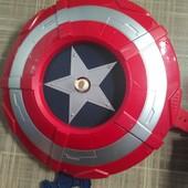 Щит капитан Америка для метания дисков