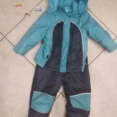 Комплект еврозима куртка+ штаны. 104/110/116