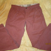 Классные коттоновые штанишки на пуговицах,состояние хорошее,р.32S,смотрите замеры