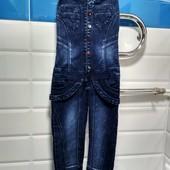 Комбез джинс одевался 2 раза, оказался великоват корсет.