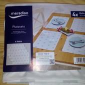 Нежный симпатичный набор салфеток для сервировки Мeradiso Германия