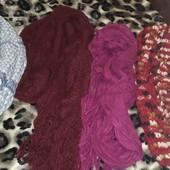 Шикарные шарфики одним лотом 5шт