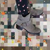 Замшевые ботинки - Италия