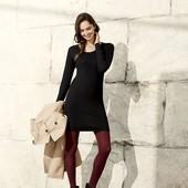 Стильное тонкое базовое платье туника мелкой вязки Esmara. Размер L, евро 44-46