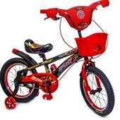 "Велосипед 16"" спайдермен"