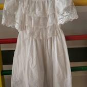 Белое платье 3-5 лет