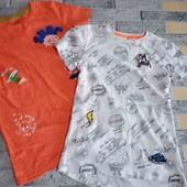 шикарный лот две футболки одним лотом