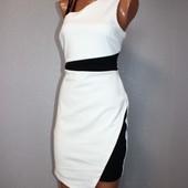 Качество! Эксклюзивное черно/белое платье от модного британского бренда Lipsy