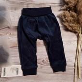 Велюровые штаны для девочки / name it