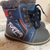 Ортопедические ботинки на зиму, сапоги для плоско-вальгусных стоп