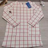 Германия!!! Плотненькое стильное платье для девочки! 110/116!