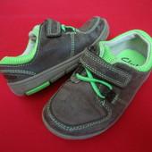 Туфли кроссовки Clarks нубук 22-23 размер
