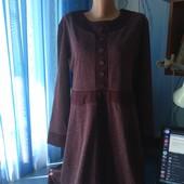 Симпатичное оригинальное платье, р.48(54-56)