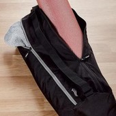 Сумка для йоги/спорта (вмещает коврик) Черная