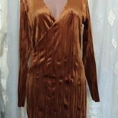 Новое платье из бархата