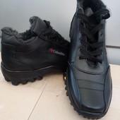 черевики зима шкіра 40-45 р/ шт/повноміри