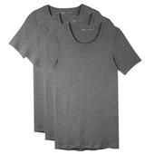 Livergy набор 3шт. базовые мужские хлопковые футболки Германия!