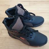 нові черевики зима хутро 38 р 25 см